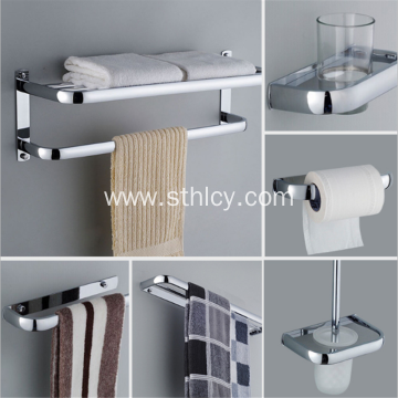Hotel Bathroom Stainless Steel Bathroom Set